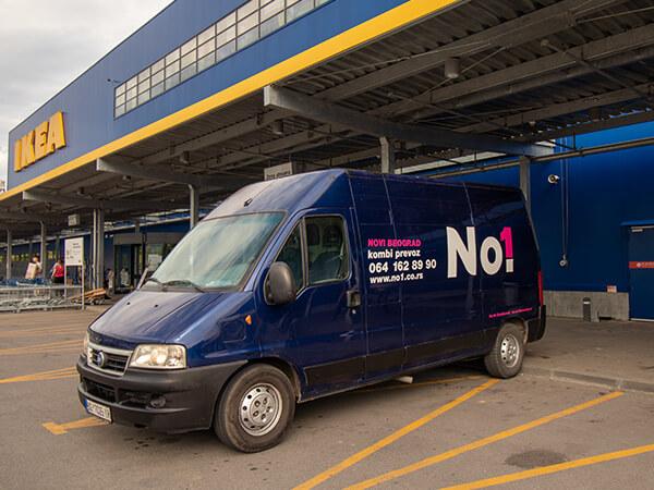 Ikea dostava namestaja